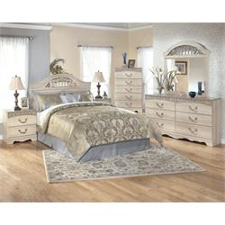 Catalina Bedroom Set - Queen HB/FD and Rails B196-64-67-98 Image