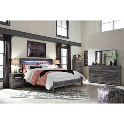 QN Bed includes:Dresser/Mirror HB/FB/and Rails B221-31-36-54-57 Image