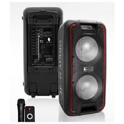 "Cyclone 10"" Speaker USB, Bluetooth, FM ALAC1000 Image"